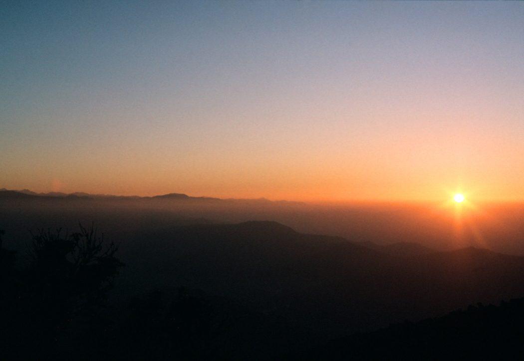Dawn over the Himalayas