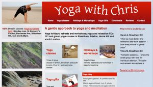Yoga with Chris - yoga and meditation