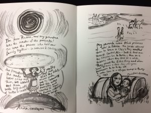 Voyage book of migration stories